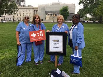 Click to view album: OPEIU Local 40 and 459 Nurses at the Safe Staffing Rally in Washington, D.C. on Thursday, May 12, 2016